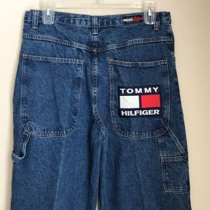 Vintage Tommy Hilfiger Men's Carpenter Jeans SZ 36